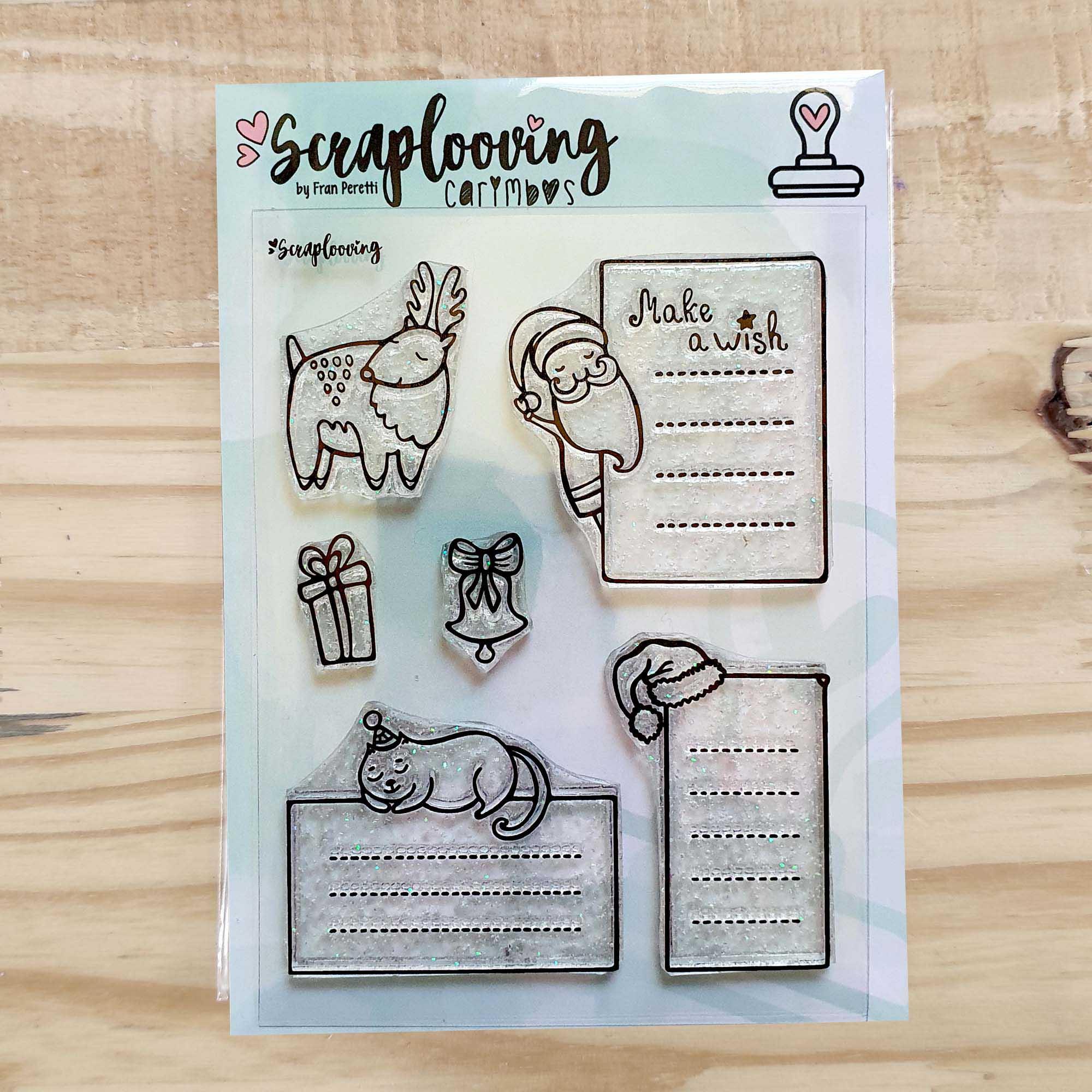 Cartela Planner/Journaling de Natal