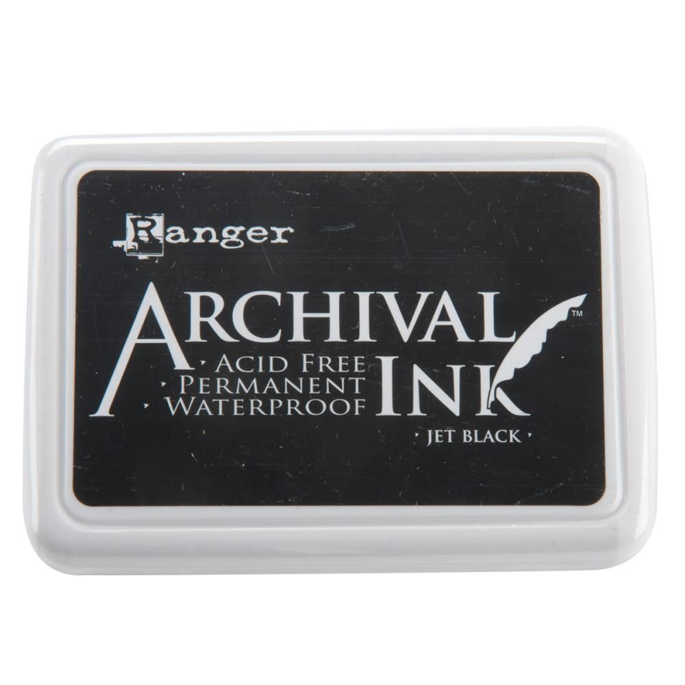 Ranger Archival Ink Pad #0 - Jet Black