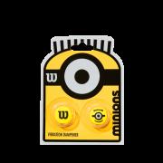 Antivibrador Wilson Minions - Embalagem com 2 unidades