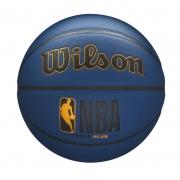 Bola de Basquete NBA Forge Plus Azul Marinho - Oficial #7