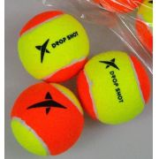 Bola de Beach Tennis Drop Shot - Pack com 03 unidades