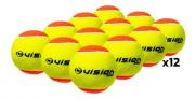 Bola de Beach Tennis Vision - Pack com 12 Bolas