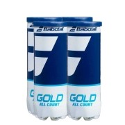Bola de Tênis Babolat Gold All Court - Pack c/ 4 Tubos