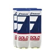 Bola de Tênis Babolat Gold Championship Pack c/ 4 Tubos