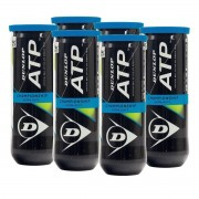 Bola de Tênis Dunlop ATP Championship Extra Duty - Pack c/ 6 Tubos