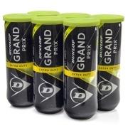 Bola de Tênis Dunlop Grand Prix - Pack com 6 bolas