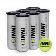 Bola de Tênis Inni Championship - Pack com 6 Tubos