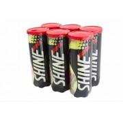 Bola de Tênis Super Shine - Pack c/ 6 Tubos