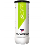Bola De Tênis Tecnifibre Soft Stage 1 Tubo com 03 Bolas - Verde