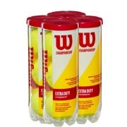 Bola de Tênis Wilson Championship - Pack com 4 Tubos