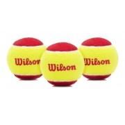 Bola De Tênis Wilson Starter Stage 3 Itf - Pack c/ 3 Bolas