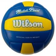 Bola Volei Wilson Matchpoint Azul e Amarelo