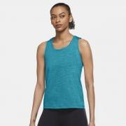 Camiseta Nike Yoga Dri-FIT Azul Feminina