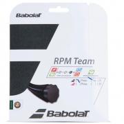 Corda Babolat RPM Team 17L 1.25mm Preta - Set Individual