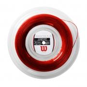 Corda Wilson Sensation Plus 17L 1.28mm - Vermelho - Rolo com 200m