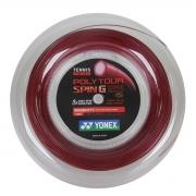 Corda Yonex Polytour Spin G Vermelha - Rolo com 200 Metros