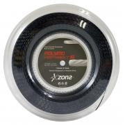 Corda Zons Polymo Heptabolt 16 1.30mm - Preta - Rolo com 200m