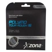 Corda Zons Polymo Tour Rough 16 1.30mm 12.2m Copolímero Prata - Set Individual