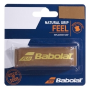 Cushion Babolat Couro Natural Grip Feel Marrom
