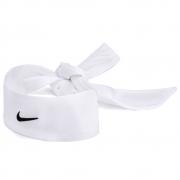 Faixa Cabelo Nike Dri-Fit Head Tie 2.0 - Branco e Preto