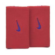 Munhequeira Nike Dri-fit Home Away Vermelho e Marinho