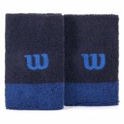 Munhequeira Wilson - Marinho e Azul - 02 Unidades