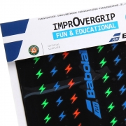 Overgrip Babolat para Raquete Infantil Improvergrip X2 Colors