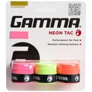 Overgrip Gamma Neon Tac com 03 Unidades