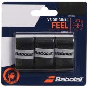 Overgrip VS Original Babolat Preto e Amarelo com 3 unidades