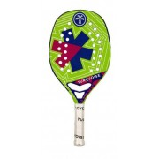 Raquete de Beach Tenis Turquoise Pro Kappa 4.1 GREEN