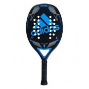 Raquete de Beach Tennis Adidas Match 2.0 Preta e Azul