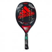 Raquete De Beach Tennis Adidas Match 2.0 Vermelha e Preta