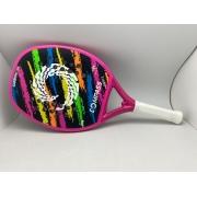 Raquete de Beach Tennis Compass Griffe Rosa