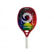 Raquete de Beach Tennis Compass Oslo Vermelha