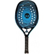 Raquete de Beach Tennis Turquoise Black Death Blue - 2020