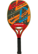 Raquete de Beach Tennis Turquoise Revolution 2.1 - Red