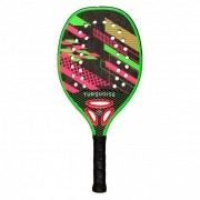 Raquete de Beach Tennis Turquoise Revolution Green 2020