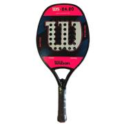 Raquete de Beach Tennis Wilson WS 24.20 - Pink e Branca