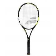 Raquete de Tênis Babolat Evoke 102 Preta e Amarela - New
