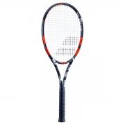 Raquete de Tênis Babolat Evoke 105 - Preto e Laranja