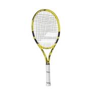 Raquete de Tênis Babolat Infantil Aero Junior 26 Amarela e Preta - 2021
