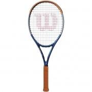 Raquete de Tênis Wilson Clash 100 Roland Garros - 295g - Edição Limitada