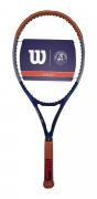 Raquete de Tenis Wilson Clash 100 Roland Garros - Edição Limitada