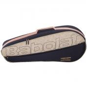 Raqueteira Babolat Essential 3R Preto e Bege - 2021