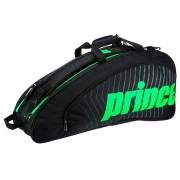 Raqueteira Prince Tour Future X6 Dupla - Preto e verde