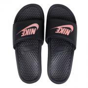 Sandalia Nike Benassi - Preta e Rosa