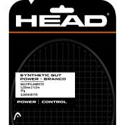 Set Head DLD de Corda Synthetic Gut Power 17 - Branco