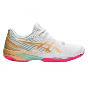 Tênis Asics Solution Speed FF 2 Clay L.E - Feminino - Branco