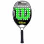 Raquete de Beach Tennis Wilson WS 22.20 - Preta e Verde