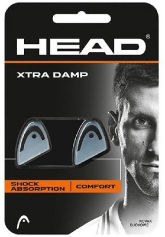 Antivibrador Head Xtra Damp Transparente - 2 unidades  - PROTENISTA